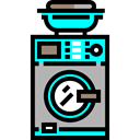Laundry, washer, washing machine, Furniture And Household, technology Icon