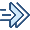 Arrows, Resize, interface, ui, Resizing, Double Arrows, Resize Option DarkSlateBlue icon