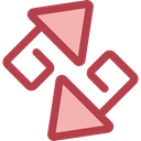 Arrows, Change, ui, exchange, symbols, changing, Multimedia Option Sienna icon