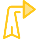 ui, Diagonal, directional, Multimedia Option, Diagonal Arrow, Multimedia, Arrows, Orientation Black icon