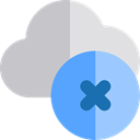 Cloud, weather, Cloud computing, Cloud storage, Multimedia, Add, remove, cancel Silver icon