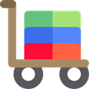 shopping cart, Supermarket, online store, Shopping Store, Business, Cart, commerce RosyBrown icon