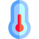 temperature, thermometer, Mercury, Celsius, Fahrenheit, Degrees, Tools And Utensils LightSkyBlue icon