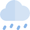 weather, Rain, Storm, sky, rainy, meteorology PowderBlue icon