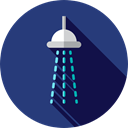 Furniture And Household, relax, hygiene, Shower Head, medical, bathroom, Shower DarkSlateBlue icon