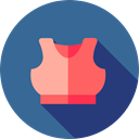 Exercising, clothing, gym, Women, exercise, fashion, Sportswear, Gymnast SteelBlue icon