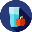 Apple, food, diet, Juice, Juice Bottle, Helthy Food, Food And Restaurant DarkSlateBlue icon