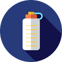 Food And Restaurant, drink, food, water, Bottle, Healthy Food, Water Bottle, Hydratation, Sports And Competition DarkSlateBlue icon