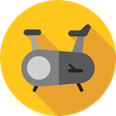 sports, fitness, gym, exercise, Stationary Bike, Sports And Competition Icon