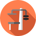 weight, sports, gym, dumbbell, weights, Dumbbells, Tools And Utensils, Sports And Competition Coral icon