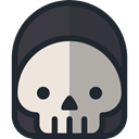 death, halloween, horror, Terror, spooky, scary, fear DarkSlateGray icon