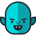 halloween, vampire, horror, Terror, spooky, scary, fear DarkTurquoise icon