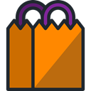 fear, halloween, horror, Terror, paper bag, spooky, scary Chocolate icon