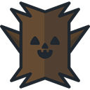 Tree, Avatar, halloween, horror, Terror, spooky, scary, fear DarkOliveGreen icon