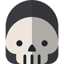 death, halloween, horror, Terror, spooky, scary, fear Icon