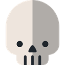 dangerous, signs, Poisonous, Healthcare And Medical, medical, Dead, skull, halloween DarkGray icon