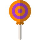 food, sugar, Dessert, sweet, Lollipop, Food And Restaurant Black icon