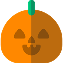 halloween, pumpkin, horror, Terror, spooky, scary, fear DarkOrange icon