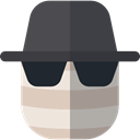 Avatar, halloween, horror, Terror, spooky, scary, fear, Invisible Man DarkSlateGray icon