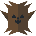 spooky, scary, fear, Tree, Avatar, halloween, horror, Terror DarkOliveGreen icon