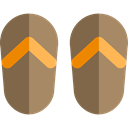 Feet, Beach, shoes, fashion, footwear, flip flops, slipper DimGray icon