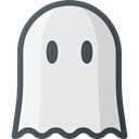 Ghost, spooky Lavender icon