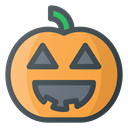 halloween, pumpkin, lamp SandyBrown icon