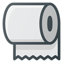 paper, Roll, toilet, trick Lavender icon