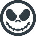 jack, halloween, skellington DarkSlateGray icon