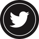 media, Logo, twitter, Social Black icon
