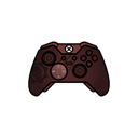 controller, gears, gamer, xbox one, elite Black icon