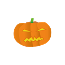 pumpkin Black icon