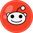Social, media, Reddit OrangeRed icon