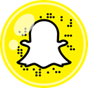 media, Social, Snapchat Yellow icon