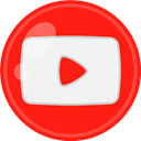 media, Social, youtube Red icon