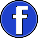 Social, media, Facebook RoyalBlue icon