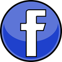 media, Facebook, Social SlateBlue icon