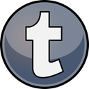 Tumblr, media, Social LightSlateGray icon