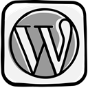 Communication, social media, Wordpress, Social, media, network, web WhiteSmoke icon