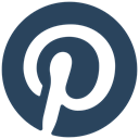 media, online, pinterest, social icon DarkSlateGray icon