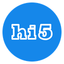 social icon, media, hi, five, Hi5, Hi 5 DodgerBlue icon