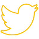 network, Connection, bird, media, Social, tweet, twitter icon Black icon