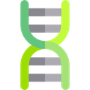 science, medical, education, Biology, dna, Deoxyribonucleic Acid, Dna Structure, Genetical Black icon
