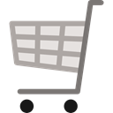 commerce, shopping cart, Supermarket, online shop, online store, Shopping Store Black icon