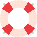 lifeguard, Boat, Salvation, save, help AntiqueWhite icon