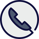 Cable, telephone, technology, wire, phone receiver, phone call, Business And Finance WhiteSmoke icon