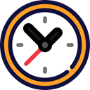 clocks, Circular Clock, time, watch, timer, technology MidnightBlue icon