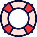 Business And Finance, save, help, lifeguard, Boat, Salvation MidnightBlue icon