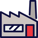 work, Working, industry, buildings, workers, Industrial MidnightBlue icon