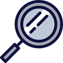 Searching, Zoom Lens, Len, Business And Finance, search, zoom, detective MidnightBlue icon